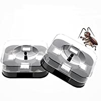 ‏‪New Automatic Cockroach House Insects Bugs Capture Bait Trap Killer Catcher Box‬‏