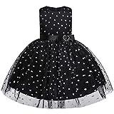 Winkey Mädchenrock, Beiläufige Bogenherzprinzessin Hochzeitsshow Kleidkleidung der Kindermädchenspitzetendenz Art und Weise