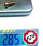 F26 Titan M6 Schraube DIN912 konisch für Fahrrad (gold, 16 Millimeter)