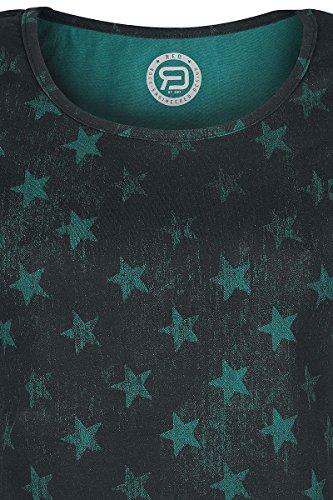 R.E.D. by EMP Roundneck Doppelpack Girl-Shirt Schwarz Schwarz