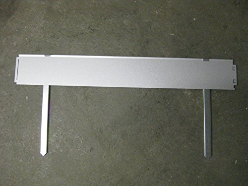 Teichrandsystem Teichrand aus Metall 14 cm x 1 m mit Erdspieß