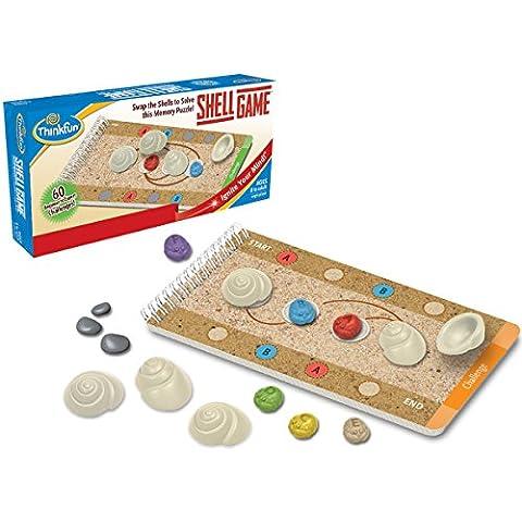 ThinkFun - Shell Game, juego de mesa en español (TF1007)