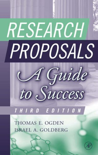 Research Proposals: A Guide to Success (2002-06-10)
