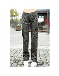 AKDYH Pantalones De Mujer Pantalones De Cuero Mujer Pantal/ón El/ástico Pantalones Mujer Cremallera Motocicleta Pantalones Delgados Blanco Femme