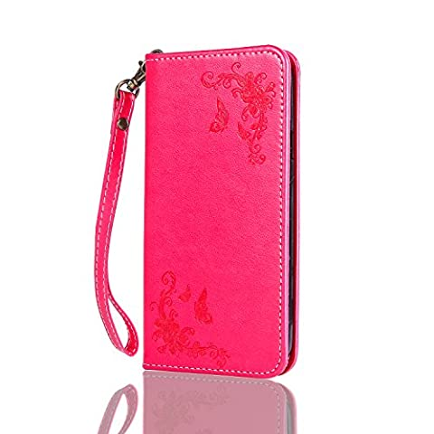 Samsung Galaxy A3 2015 / SM-A300F Wallet Case,Samsung Galaxy A3 2015 / SM-A300F Leather Case,Cozy Hut Samsung Galaxy A3 2015 / SM-A300F Phone Case Butterfly Rose 3D Elegant PU Wallet Stand Function Leather Case Smartphone Slim Bookstyle with Magnetic Closure Card Slot Holder and Lanyard Strap Carrying Protective Case for Samsung Galaxy A3 2015 / SM-A300F -