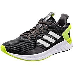 Adidas Questar Ride, Scarpe Running Uomo, Grigio (Carbon/Ftwwht/Syello 000), 42 EU