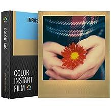 Impossible 4526Color película instantánea para cámaras Polaroid 6008fotografías con marco de oro