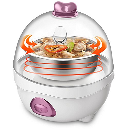 ANDE Egg Boiler Stainless Steel Anti-Corrosion Over-Temperature Protection Functions Single Layer Egg Steamer