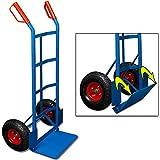 Deuba® Sackkarre ✔ bis 200kg ✔ klappbare Schaufel ✔ Luftreifen - Karre Transportkarre Stapelkarre Transportwagen