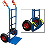 DEUBA® Sackkarre | klappbar | bis 200kg | Luftreifen | Haltegriffe - Karre Transportkarre Stapelkarre Transportwagen