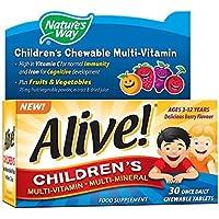 Alive! integratore di vitamine e minerali per bambini 30 compresse