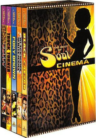 Coffret Best Of Soul Cinema : Black Mama, White Mama / Black Caesar / Foxy Brown / Coffy / Truck Turner - Édition 5 DVD (Foxy Brown, Dvd)