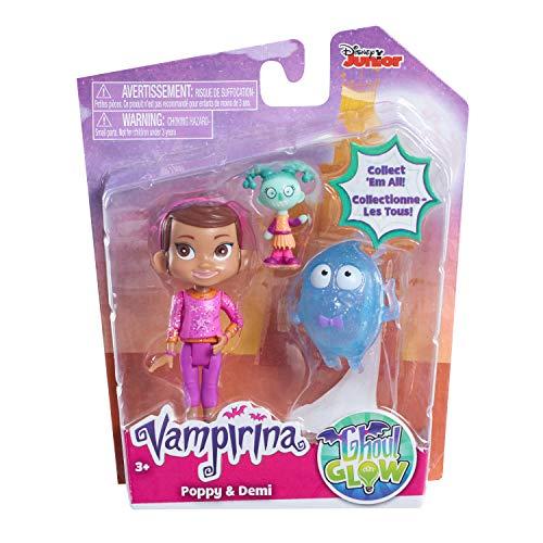 Vampirina-78068 Figuras Amigos Poppy and Demi Bandai 78068
