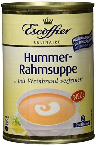 Escoffier Hummer-Rahmsuppe, 3er Pack (3 x 390 ml)