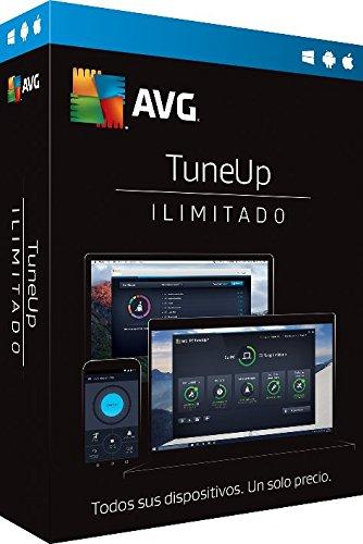 AVG TuneUp 2017 | Dispositivos Ilimitados | 1 Año | Licencia Electrónica
