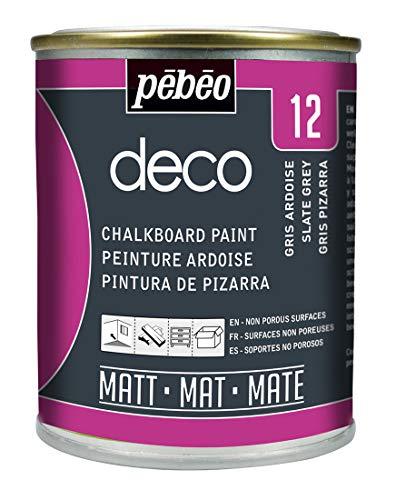 Pebeo - Pittura per lavagna, 250 ml, colore: Grigio