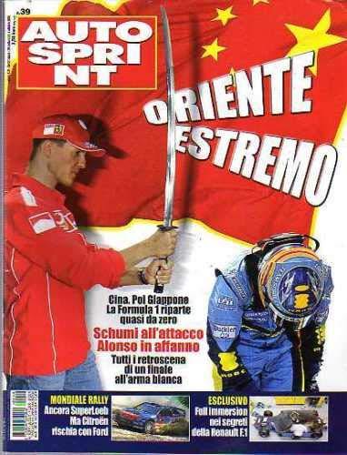 Autosprint Auto Sprint 39 Set-Ott 2006 Bruno Senna, Piquet-Alfa Romeo 8C