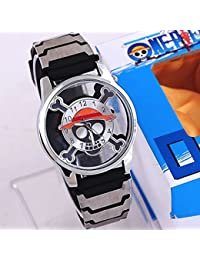 Animation One Piece skull logo hollow watch factory wholesale Amazon eBay sales