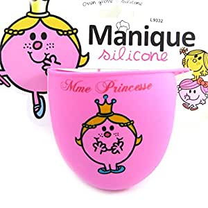 Monsieur Madame [L9332] - Manique silicone 'Monsieur Madame' rose pâle (Mme Princesse)