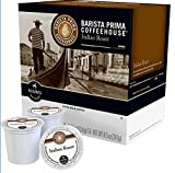 Keurig Barista Prima Coffeehouse Italian Roast Coffee K-Cup Pods (22 Pods)