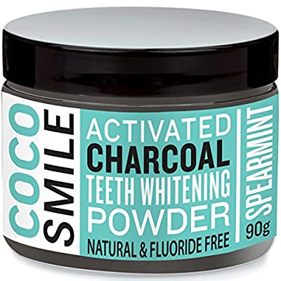 Cocosmile: Activated Charcoal Teeth Whitening Powder | 90g