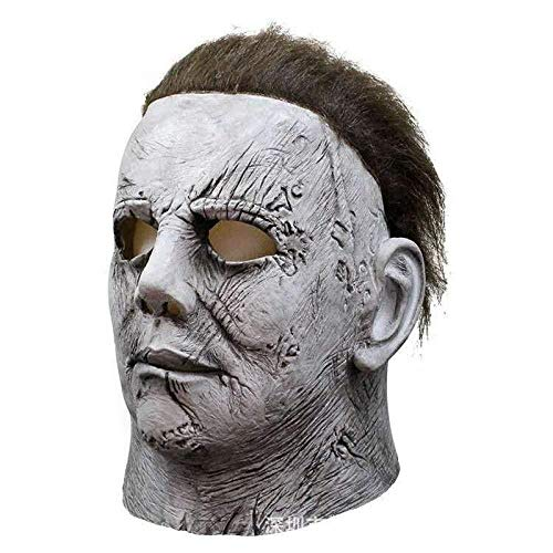JINFAN Halloween-Maske, Halloween Gruselige Maske Cosplay Kostüm Theater Requisiten Latex Riesen Tier Maske (Riese Tier Kostüm)