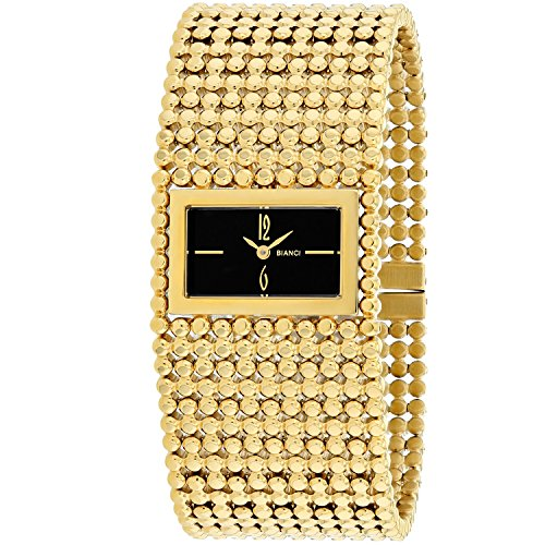 ROBERTO BIANCI WATCHES Women's 'Verona' Swiss Quartz Stainless Steel Casual Watch, Color:Gold-Toned (Model: RB90482)