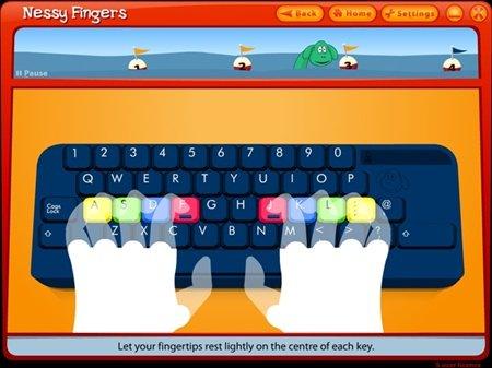 Nessy Fingers Test