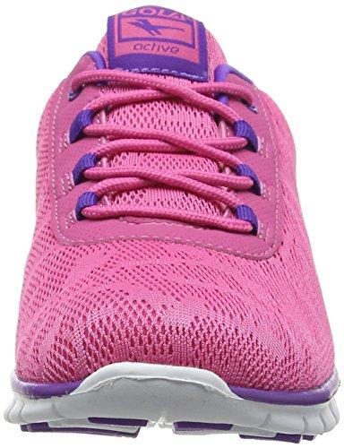Gola Bella, Chaussures de Fitness Femme Rose (Pink/White)