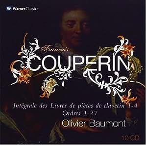 Couperin : Intégrale des Livres de pièces de clavecin 1-4, Ordres 1-27