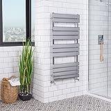 Designer Handtuchheizkörper Badheizkörper 1200x600mm Chrom