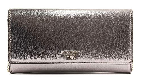 GUESS Clutch Starry Night Pewter