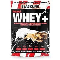 BlackLine 2.0 Honest Whey+ Whey 12,5% Isolate Premium Protein Eiweiß Proteinshakes Eiweißshakes 1000g (1000g Salty Caramel)
