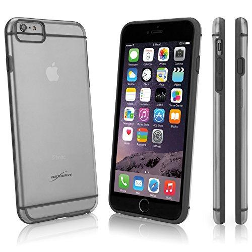 BoxWave Étui simpleelement Coque rigide de protection pour Apple iPhone 6Plus-Profil Ultra Bas Gris et semi-transparent (Gris)