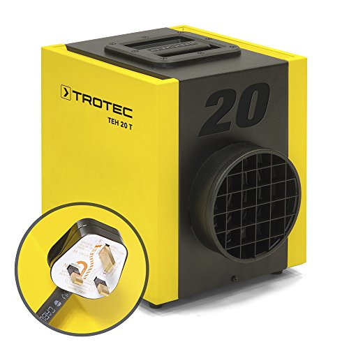 TROTEC Electric Fan Heater TEH 20 T with UK-Plug (2.5 kW)