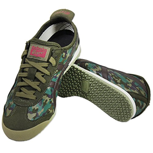 ASICS ONITSUKA TIGER MEXICO 66 CAMO MILITARY DAMEN SNEAKER SCHUHE CAMOUFLAGE Camouflage