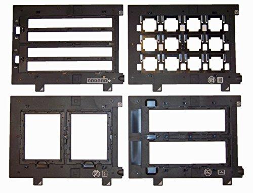 OEM Epson Perfection v700 Scanner – komplettes Set – Slide-Halterung, 35 mm, 120 220 620 Medium Format, 4 x 5 Halterung