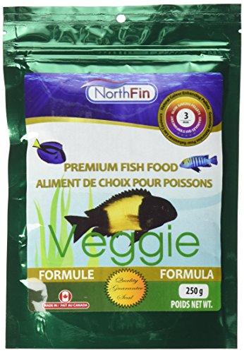 Northfin Lebensmittel Gemüse-Formel 3mm Pellet 250Gramm Paket -