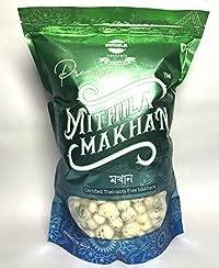 Mithila Naturals Premium Mithila Makhana, 200g Pouch