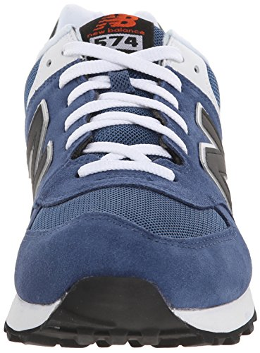 New Balance ML574 D, Baskets mode homme Bleu (Moy Blue/Black)