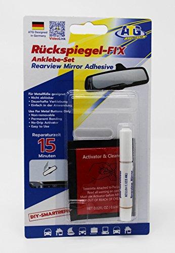 ATG-Rearview-Fix-anklebe-di-set-per-il-fissaggio-di-auto-di-specchio-interno-su-parabrezza-con-attivatore-3-pezzi-kit-di-riparazione-auto-Fai-da-te-di-Smart-Repair