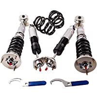 maXpeedingrods Adjustable Damper Coilover Kit for BMW 3 Series E46 Gray