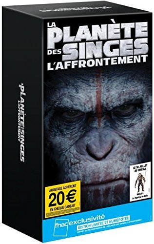 volution - Exklusiv limitierte Fnac Box - auf 500 Stk inkl. NECA Maurice oder Koba Figur + 10 exklusive Filmkunstwerke / + 4 Poster zum Film [fuer Blu-ray] (Dawn of the Planet of the Apes / La Planete des Singes) ()