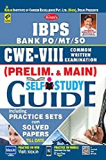 Kiran's IBPS Bank PO/MT/SO CWE VIII (Prelim. and Main) Self Study Guide Practice Work Book - 2262A