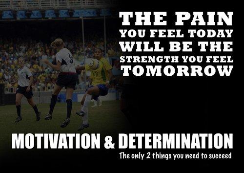 Hochglanzposter zur Motivation, 122-A4-Poster mit Zitat
