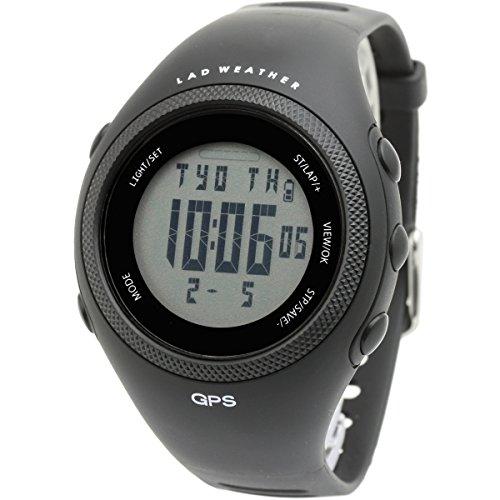 [LAD WEATHER] GPS Chronograph Rundenzeit Kalorie Entfernung Google earth Outdoor (Bergsteigen / Wandern / Laufen / Camping) Sport Herren Uhren Armbanduhren GPS-Geräte