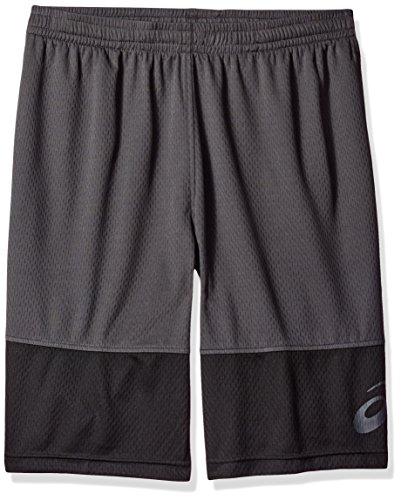Asics Herren Shorts Gr. L Hoch, dunkelgrau (Asics Athletic Shorts)