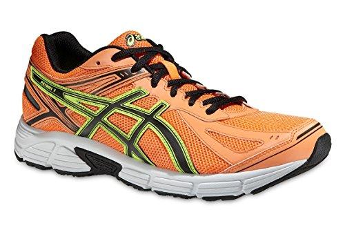 Asics Patriot 7 - Zapatillas de running para hombre, Naranja (Flash Orange/Black/Flash Yellow 3090), 45