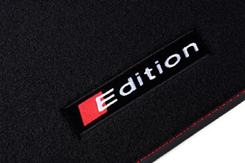 Preisvergleich Produktbild Edition Fußmatten für Audi S Line / S6 / A6 4G C7 Baujahr 2011-