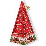 Tee schwarz mit Zimt-Apfel Tea 15x2g in Pyramide Tannenbaum Weihnachten Geschenk-Idee